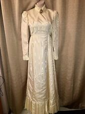 Classic VTG 1950-60's Champagne  Wedding Dress/Gown by Emma Domb~California SZ 7
