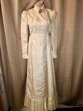 Classic VTG 1950-60's Champagne  Wedding Dress/Gown by Emma Domb~California SZ 7