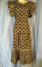 Handmade Hand Made Vintage African Ghanaian Ethnic Clothing Outfit Costume Ghana