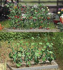 Busch 1214 HO Tomato & Cucumber Plants