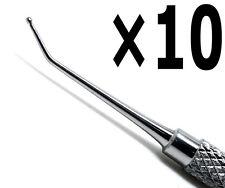 10 Pcs Calcium Hydroxide Applicator Dycal 0.9mm Length 11cm Dental Tools