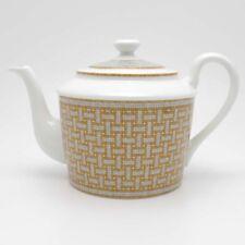 HERMES Porcelain Teapot Mosaique Van Cattle Tableware Ornament Interior 850ml