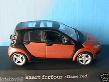 SMART FORFOUR FLAME RED BROWN METAL BLACK 2003 SCHUCO 1/43