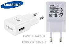 EP-TA20EWE CARICABATTERIA FAST CHARGING Samsung Bianco 2A per Galaxy S6 S7 S8