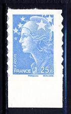 FRANCE AUTOADHESIF N° 216 MARIANNE 1,25€, bord de feuille, neuf xx, LUXE