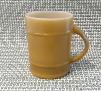 Vintage Anchor Hocking Fire King Yellow Barrel Mug EUC