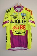 RETRO JOLLY CLUB 88 NALINI MULTI COLOURED CYCLING JERSEY MENS SIZE 6