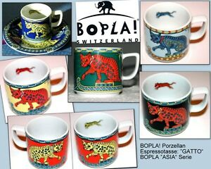 GATTO BOPLA Porzellan Espressotasse ASIA Serie Espresso Cup Taza 0,09l Tasse