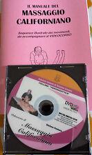 Videocorso MASSAGGIO CALIFORNIANO in DVD - Fontana