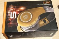 SOUL by Ludacris SL300GG High Definition Noise Canceling Headphones Gold