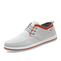 New Fashion Breathable Men's Casual Shoes Canvas Athletic Sneakers Big Size 12.5