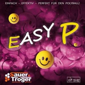 Sauer&Tröger Easy P Spezialbehandelt, r/s,OX, größte Störung beim Plastikball