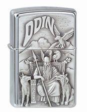 Zippo Odin Emblem NEU+OVP VIKING ODIN 4045233001185