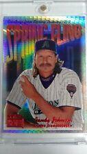 1999 Fleer Skybox Premier Spring Fling Randy Johnson Star Rubies /50