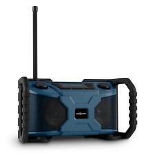 (B-WARE) BAUSTELLEN RADIO TRAGBAR BLUETOOTH SOUND SYSTEM BLUETOOTH DAB+ USB