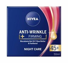 NIVEA Antifalten + Firming Nacht Pflege 45+50ML