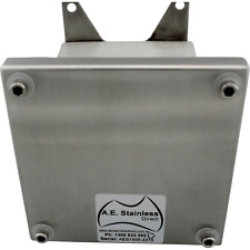 IP67 Terminal 316 Stainless Steel Electrical Enclosure 90Hx90Wx85D