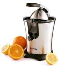 Eurolux Electric Orange Juicer Squeezer Stainless Steel 160 Watts of Power - New
