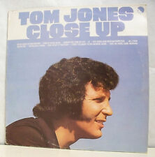 "33 tours TOM JONES Disque Vinyl LP 12"" CLOSE UP - EMI 60.701 Frais Reduit"