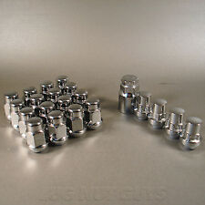 Lug Nuts & Locking Lugs | Bulge Acorn 12x1.5 Chrome | Install Kit For 5 Lug