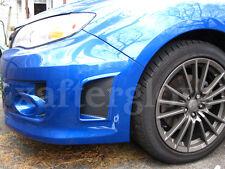 2008-2014 Subaru WRX or STI 3M DiNoc Carbon Fiber Front Bumper Vent Inlays