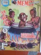 10 originals memin comics EDAR S.A 1960s