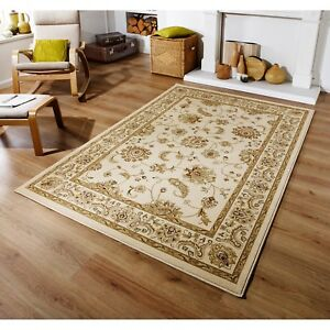 Kendra 2330 X Beige Cream Traditional Style Rug in various sizes circle & runner