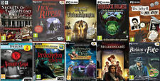Hidden Object Games PC Games Bundle/job lot 10 Games - New and Sealed