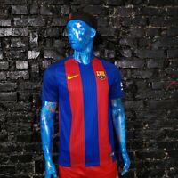 Barcelona Barca Jersey Home football shirt 2016-2017 Nike 776850-481 Mens Size M