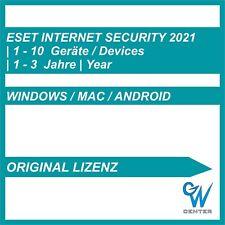 ESET Internet Security Multi Device 2020 1 PC 3 PC 5 PC 10 PC Geräte 1 - 3 Jahre