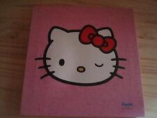 """Cadre Hello Kitty """"Sanrio License""""  impression sur toile - 25 x 25 cm"""