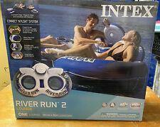 Intex River Run II 2-Person Water Tube Float with Cooler - 58837EP