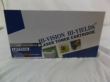 New Hi-Vision Hi-Yields Laser Toner Cartridge LH7553S Black Ink 140293