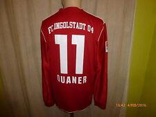 "FC Ingolstadt Adidas Langarm Matchworn Trikot 2013/14 ""Audi"" + Nr.11 Quaner Gr.L"