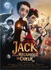 Affiche 120x160cm JACK ET LA MÉCANIQUE DU COEUR (2014) Film d'animation NEUVE