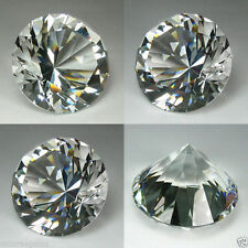 600 cts Huge Brilliant Round (60 mm)  Lab White Diamond Crystal AAA D2