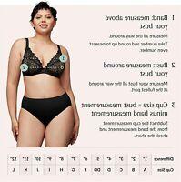 Glamorise womens Full Figure Plus Size MagicLift Seamless, Black, Size 44F fCTH