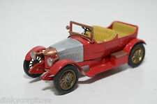 MATCHBOX YESTERYEAR 1914 PRINCE HENRY VAUXHALL RED CONDITION REPAINT