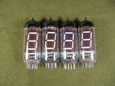IV-12 big tube VFD, 4pcs, NOS from USSR for DIY clock