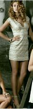 NWT $348 GUESS by Marciano Leah Beaded Dress SIZE 6