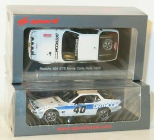 1/43 Porsche 924 GTS  Datacom  Rally Monte Carlo 1979  J.Barth