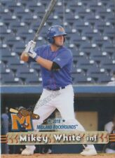 2018 Midland RockHounds Mikey White RC Rookie Oakland Athletics