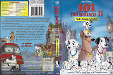 Disney 101 Dalmatians II: Patch's London Adventure (DVD, 2003) Rated G 70 min
