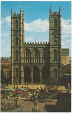 Notre-Dame Church Montreal Canada Unused Postcard By Plastichrome ColourPicture