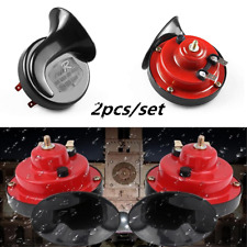 2pcs 12V 105db Loud Dual Tone Snail Electric Air Horn Car Truck Boats Universal