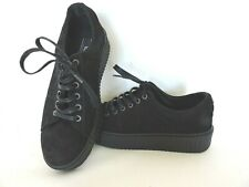ROOTS Black Suede Casual  Shoes size 8