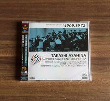 Takashi Asahina Wagner Weber Schumann SACD Hybrid Limited Japan F/S w/Tracking