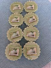 Lot Of 8 Yankee Candle Tarts: VANILLA LIME Wax Melts Green New