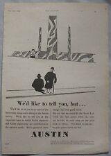 1944 Austin Original advert No.1