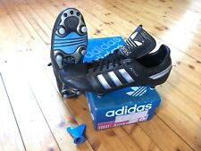 Vintage adidas Azteca Soccer Boots UK 8 WC 1986 mexico-made in West Germany